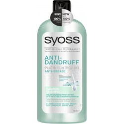 Шампоан Syoss Anti-Dandruff Anti-Grease 500ml