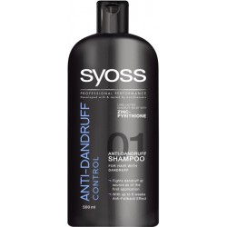 Шампоан Syoss Anti-Dandruff Control 500ml