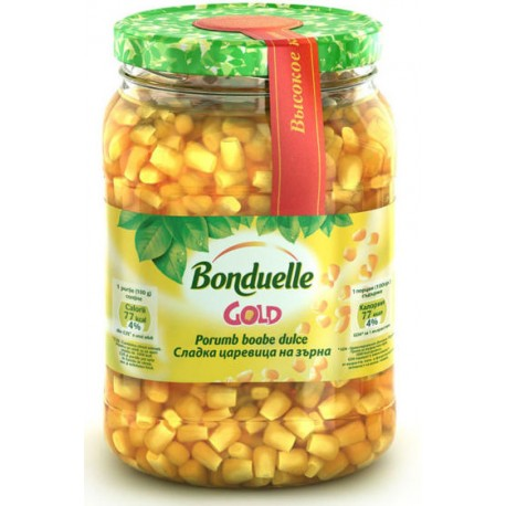 Царевица Bonduelle GOLD сладка 580ml