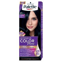 Боя за коса PALETTE Intensive Color Creme C1 Синьо-черен