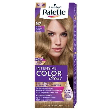 Боя за коса PALETTE Intensive Color Creme N7 Светло рус