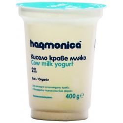 БИО КИСЕЛО МЛЯКО HARMONICA 2% 400g