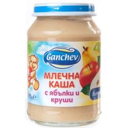 Млечна каша Ябълки и круши Ганчев 190g