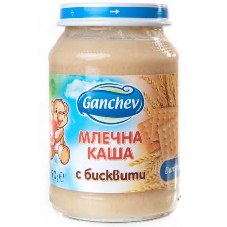 Ганчев млечна каша с бисквити 190g