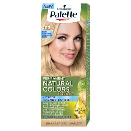 Боя за коса 100 Скандинавско рус PALETTE Natural Colors Creme