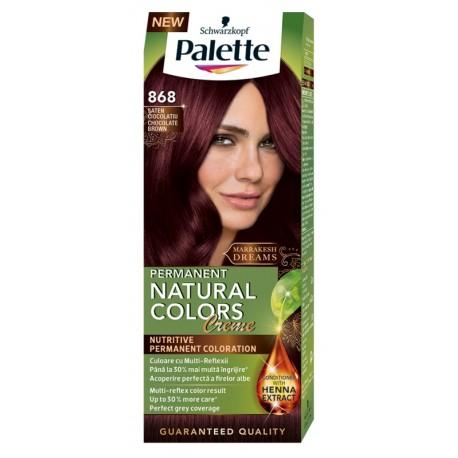 Боя за коса 868 Шоколадово кафяв PALETTE Natural Colors Creme
