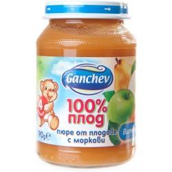 Пюре от плодове с моркови Ганчев 190g