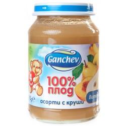 Пюре Асорти круша Ганчев 190g