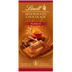 Lindt Коледен шоколад Пунш 100g