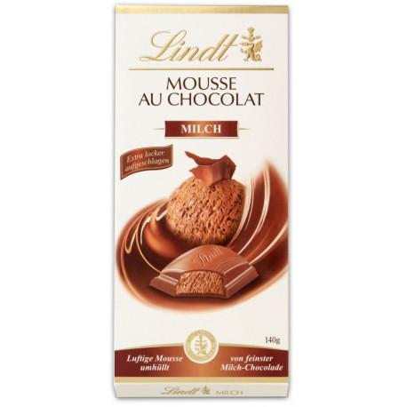 Шоколад Lindt Мус млечен 140g