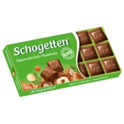 Шоколад  МЛЕЧЕН С ЯДКИ SCHOGETTEN 100g
