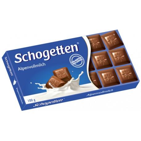 Шоколад SCHOGETTEN МЛЕЧЕН 100g