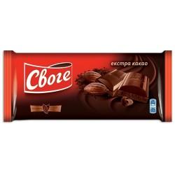 Шоколад Своге Екстра какао 90g