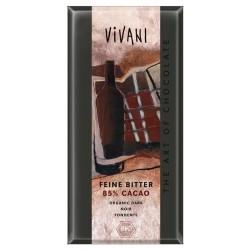 БИО ШОКОЛАД Фин натурален 85% какао 100g VIVANI
