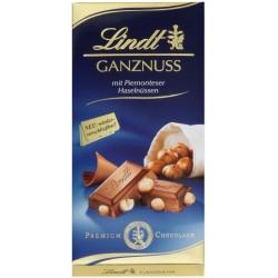 Шоколад LINDT Ganznuss 100g