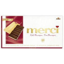 Шоколад MERCI Марципан 112g