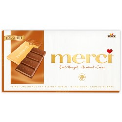 Шоколад MERCI Нуга крем 112g