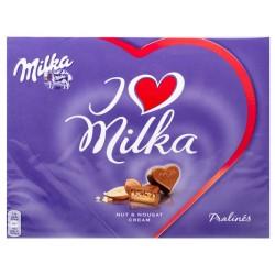 БОНБОНИЕРА I LOVE MILKA ЛЕШНИК 110g