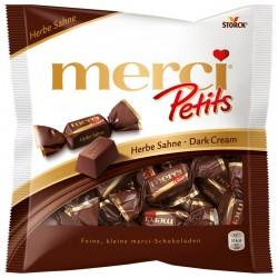 Шоколадови бонбони MERCI PETITS СМЕТАНА ТЪМНИ 125g