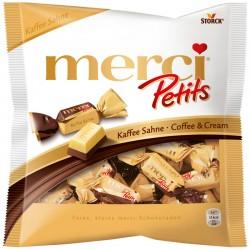 Шоколадови бонбони MERCI PETITS КАФЕ И СМЕТАНА 125g
