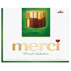 Шоколадови бонбони Merci Mandel Knusper Vielfalt 250g