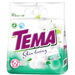 Прах за пране ТЕМА Cotton Extract White 2kg