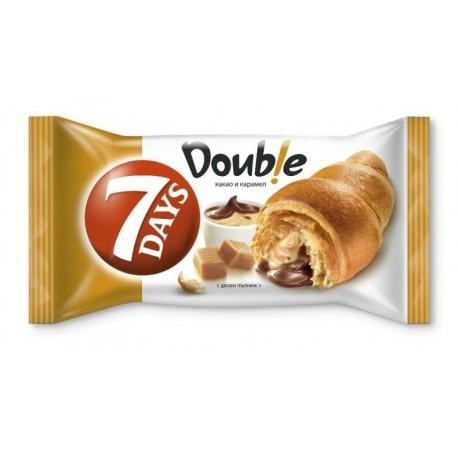 Кроасан  7 days Double какао и карамел 0,080