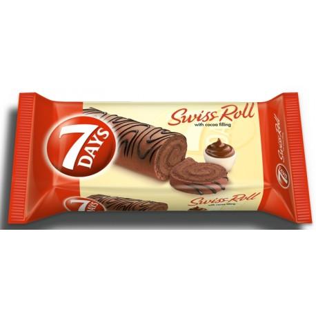 Руло 7 days какао декорация 200g