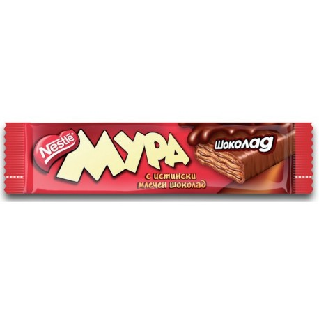Вафла Mура шоколад Nestle 33g