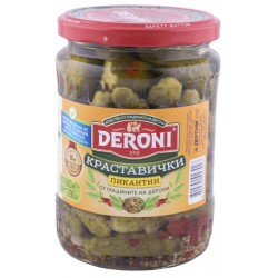 Краставички пикантни Deroni 560g