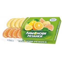 Бонбони лимонови резенчета 180g
