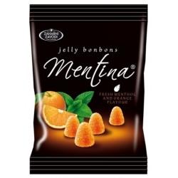 Бонбони Mentina Портокал желирани 90g