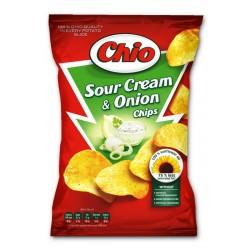 Chio чипс Сметана и лук 65g
