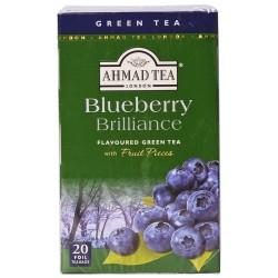 Зелен чай AHMAD Боровинка 20бр.x2g