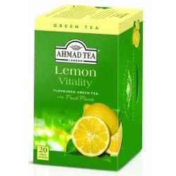 Зелен чай AHMAD Лимон 20бр.x2g