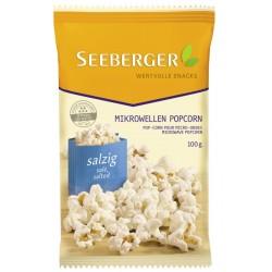 Царевица за пуканки със сол за микровълнова фурна Seeberger 100g
