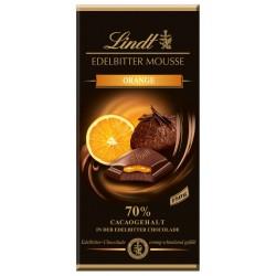 Шоколад LINDT EDELBITTER MOUSSE Портокал 70% какао 150g