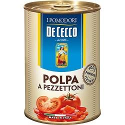 Домати на парченца 400g De Cecco