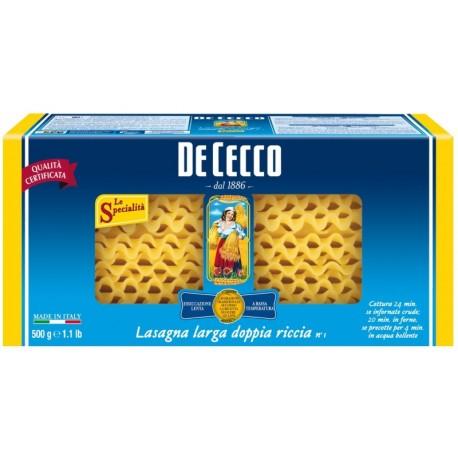 Лазаня 500g De Cecco