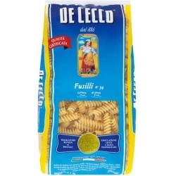 Фусили № 34 De Cecco 500g