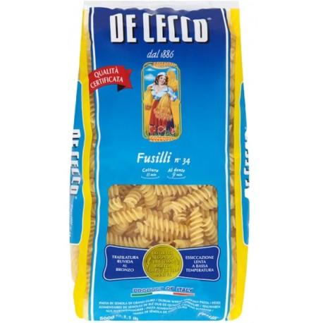 Фусили № 34 500g De Cecco