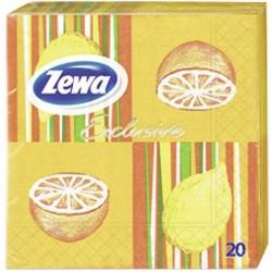 Салфетки ZEWA плодове 20бр.