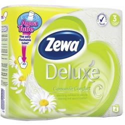 Тоалетна хартия Zewa Deluxe Лайка 4 бр.3 пл.