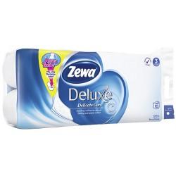 Тоалетна хартия Zewa Deluxe бяла 3пл. 8+2 бр.