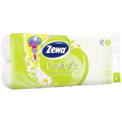 Тоалетна хартия Zewa Deluxe Camomile 3пл. 8+2 бр.