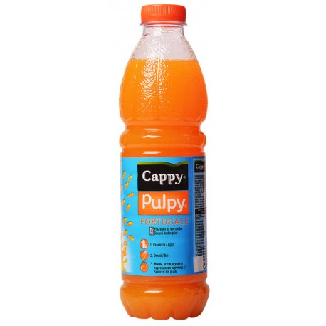 Напитка Cappy Pulpy Портокал 1l