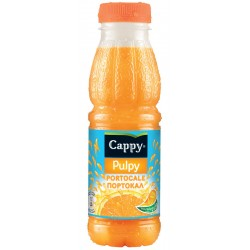 Напитка Cappy Pulpy Портокал 330ml