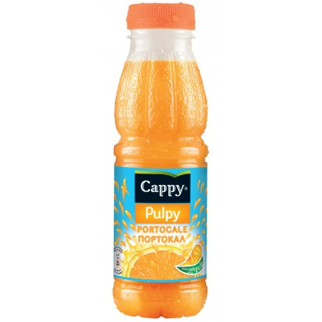Напитка Cappy Pulpy Портокал 330ml