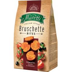 Брускети МАРЕТИ домати и маслина 70