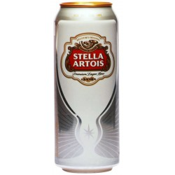 Бира Stella Artois кен 500ml